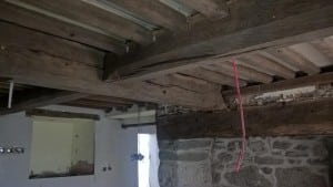 Timber Beam Cleaning